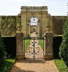 Gates in Wrest Park, Bedfordshire