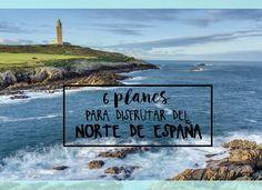 6 PLANES PARA DISFRUTAR DEL NORTE DE ESPAÑA Eurotrip, Cinema, Hiking, Nature, Travel, Wanderlust, World, Places To Visit, Spain Tourism