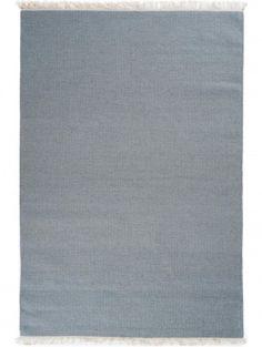 Wollteppich Rainbow Grau 170x240 cm