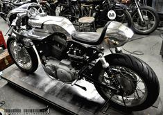 Sex on wheels!  Shinya Kimura Harley Davidson Sportster ~ Return of the Cafe Racers