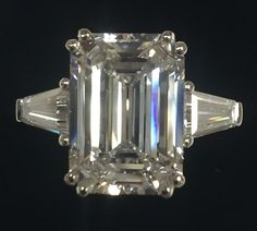 Online veilinghuis Catawiki: Platina ring met diamanten