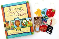 Childrens Jesse Tree Advent Calendar and Story Book Advent Ornament Set Felt Jesse Tree Ornaments Jesus Storybook Bible Christmas Countdown