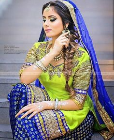 Punjabi Fashion, Ethnic Fashion, Indian Fashion, Women's Fashion, Punjabi Dress, Punjabi Suits, Salwar Suits, Indian Bridal Wear, Indian Wear