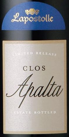 This is one crazy good, spicy wine.  2008 Lapostolle Clos Apalta.  Chile's best.  2012 Grand Tour.