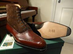 Balmoral boot by Laszlo Vass