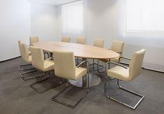 """Konferenztisch """"Metacon"""" von """"hund Büromöbel"""""""