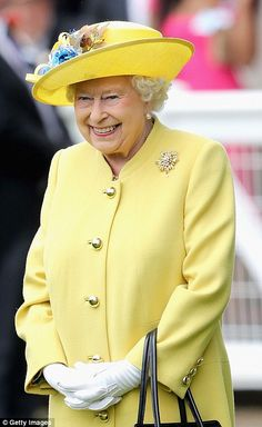 The rain FINALLY stops as the Queen arrives at Ascot