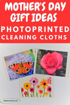 A new product as a gift idea for mother's day. Photoprinted Swedish dishcloths / cleaning cloths from thephotocloth. Swedish Dishes, Cleaning Cloths, Natural Cleaning Products, New Product, Lettering, Motivation, Day, Unique, Prints