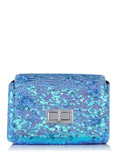 Skinnydip Lilac Sequin Mini Bag