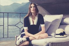 Tak.Ori Made in Italy Spring Summer 15 collection with model Eugenia Volodina