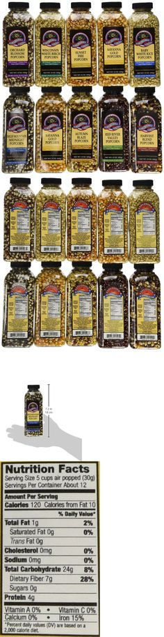 Popcorn 179181: Gourmet Popping Corn - Case Of 15 Oz. Bottles, A Variety Pack Of 10 Bottles -> BUY IT NOW ONLY: $47.45 on eBay!