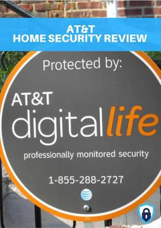 Traditional cable and telecom companies are expanding their offerings to include home security systems and AT&T was one of the first with their Digital Life package. With three starter packages and five add-on packages, you can turn your home into a secure sanctuary – or so they say. Packages include 24/7 monitoring and systems are installed by a professional so you don't have to DIY your alarm installation. #homesecuritysystemandmonitoring