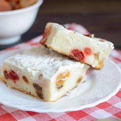 Tvarohový koláč bez lepku - bezlepkové recepty | Lukana Polenta Frita, Cheesecake, Low Carb, Gluten Free, Pudding, Cooking, Breakfast, Recipes, Foods