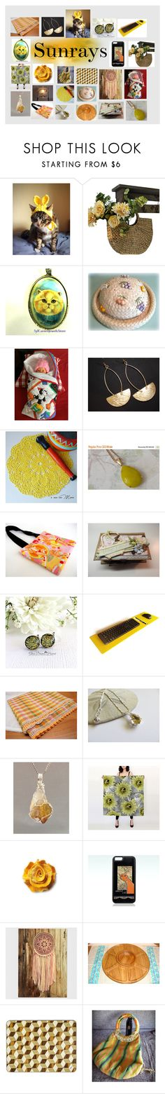 """Sunrays: Handmade and Vintage Etsy Gifts"" by paulinemcewen on Polyvore featuring Old Navy and vintage"