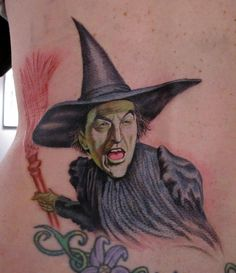 Photos of Wizards | ... Map Tattoo : Tattoos : Stefano Alcantara : Wicked Witch Wizard of Oz
