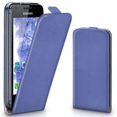 Hülle Cover mit Magnet   Flip Case Etui Handyhülle zum Aufklappen   Handytasche Handy Schutz Bumper Schutzhülle mit Schale in Hellblau
