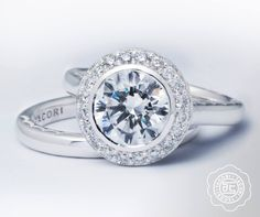 For the lovers of all things classic!  Refined circle diamond ring from our Starlit engagement collection. #ShopIDC