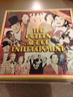 The Golden Age of Entertainment Readers digest Collectors edition 8 new unplayed lp records in new pristine condition in box record covers are in good condition but the first record cover NO 1 of set is a bit torn but repaired with tape BEAUTIFUL collectors item 1970's manufacturing