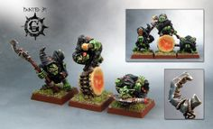 "Offensive Goblins, as in mooning their little butts at the enemy army.  butt moon funny silly orcs and goblins orks fantasy 40k hilarious best of ""top ten"""