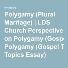polygamy essay outline