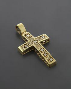 Σταυρός βαπτιστικός Χρυσός Κ14 με Ζιργκόν Holy Cross, Cross Jewelry, Crucifix, Ring Earrings, Cross Pendant, Crosses, Jewelery, Fashion Jewelry, Jewelry Design
