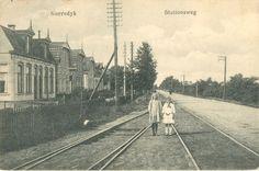 Gorredijk (Gorredyk) - Stationsweg - poststempel 1926 - Uitg. van der Zwaag