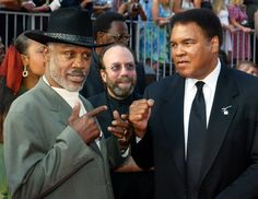Ali and  frazier | Muhammad Ali and Joe Frazier