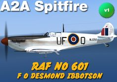 Spitfire skin made for A2A Spitfire by Tom Weiss , hosted at www.lockonfiles.com