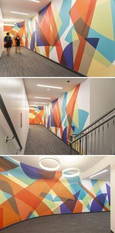 Accent Wallpaper, More Wallpaper, Unique Wall Art, Unique Home Decor, Ceramic Wall Art, Wall Installation, New Artists, Designer Wallpaper, Wall Design