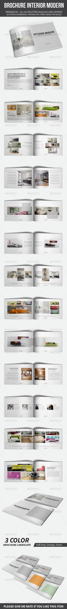 Brochure Interior Modern Template