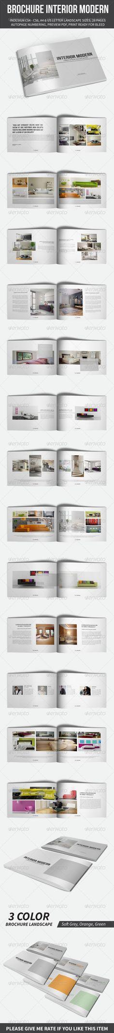 Brochure Interior Modern Template