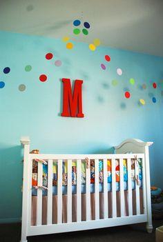 M's finished nursery