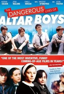 Peter Care's debut feature The Dangerous Lives of Altar Boys follows a handful of parish school adolescents who try to figure out who they are. Francis Doyle (Emile Hirsch), Tim Sullivan (Kieran Culkin), and their friends struggle against the stultifying repression of their school, personified by Sister Assumpta (Jodie Foster). One of the boys is a talented artist whose drawings lead to animated sequences in the film that were drawn by Spawn creator Todd McFarlane. Vincent D'Onofrio and Jena…