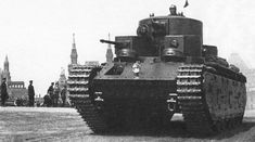 T-35 Multi Turret Tank