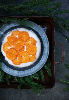 Call me cupcake: A clementine cake and citrus curd