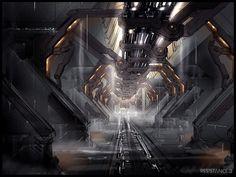 R3 Terraformer First Interior by MeckanicalMind on DeviantArt