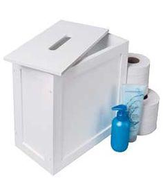 Slim shaker storage unit