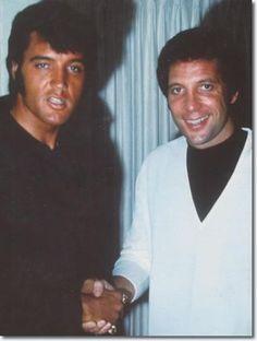 Elvis Presley and Tom Jones - pardon me while I drop my panties