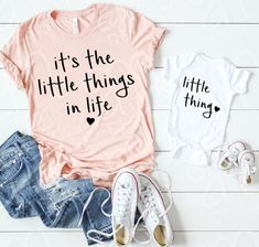 Mom Shirts Discover Mommy and Me Mommy and Me Mommy to Be Mommy and Me SVG Little things in life Svg Files Svg Files for Cricut Mom Gift Baby Mommy And Me Shirt, Mommy And Me Outfits, Mom And Me, Mommy Baby Matching Outfits, Baby Girl Outfits, Baby Girl Shirts, Mommy And Me Clothing, Cute Onesies For Babies, Boy Onsies