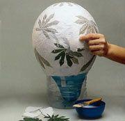 Crea una lampara de papel con pocos materiales | MioPlanet
