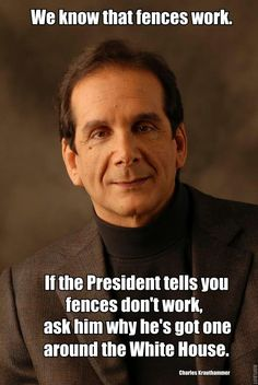I grew up learning politics from Charles Krauthammer each week for 20 years. I am grieved to hear of his terminal illness, and hold him in my thoughts and prayers. Only Play, Thing 1, Political Views, It Goes On, God Bless America, We The People, Smart People, In This World, At Least