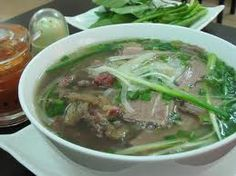 Pho is an attraction food in Hanoi,Vienam  Noodle with checkend and with beef Vietnamese Pho, Vietnamese Cuisine, Vietnamese Recipes, Pho Restaurant, Vietnamese Restaurant, Rice Noodle Soups, Beef Noodle Soup, Pho Vietnam, Asian Soup