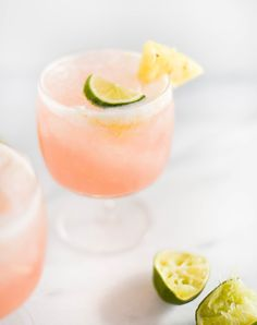 Sip on a guava, pineapple + coconut La Croix cocktail with this easy drink recipe.