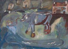 The Cow (Calf) c1938 Frances Hodgkins
