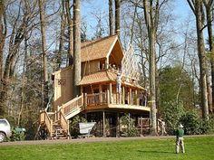 Incrível e impressionante Tree Houses ~ Agora que é Nifty