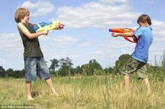 """Boy Scouts Banned From Water Pistol Fights Because They Involve """"Simulated Firearms"""""""