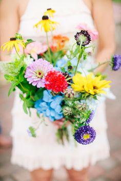 Photography: Millie Holloman Photography - http://www.stylemepretty.com/portfolio/millie-holloman-photography Florals: Kelly Odom - http://www.stylemepretty.com/portfolio/kelly-odom Floral Design: Kelly Odom - http://www.stylemepretty.com/portfolio/kelly-odom Read More on SMP: http://www.stylemepretty.com/2015/06/04/whimsical-boho-chic-wedding-in-north-carolina/