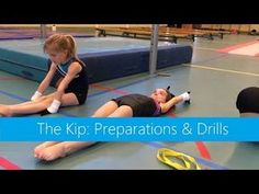 The Kip: Preparations & Drills Gymnastics At Home, Gymnastics Lessons, Preschool Gymnastics, Gymnastics Tricks, Tumbling Gymnastics, Gymnastics Coaching, Sport Gymnastics, Olympic Gymnastics, Gymnastics Pictures