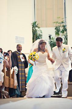 Real {Connecticut} Wedding: Jasmin + Steven - Munaluchi Bridal Magazine