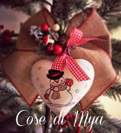 Decorazioni handmade Natalizie, by COSE DI MYA, 17,00 € su misshobby.com